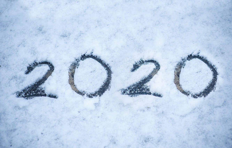 Photo wallpaper winter, snow, new year, white, new year, happy, winter, snow, 2020