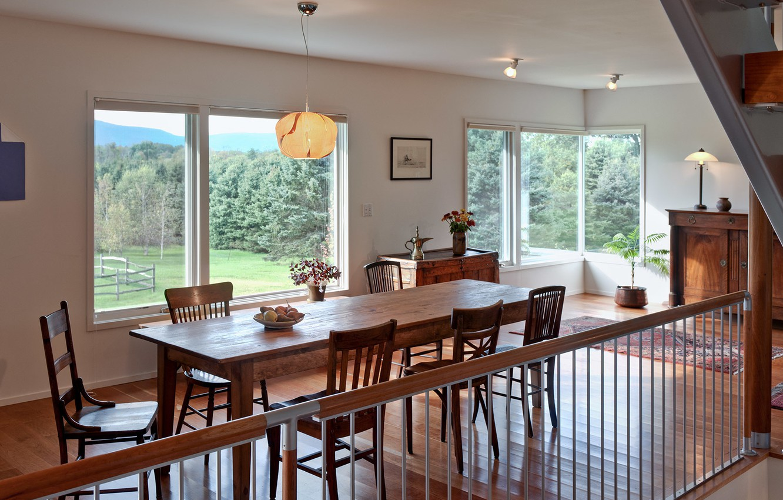 Photo wallpaper room, interior, ladder, dining room