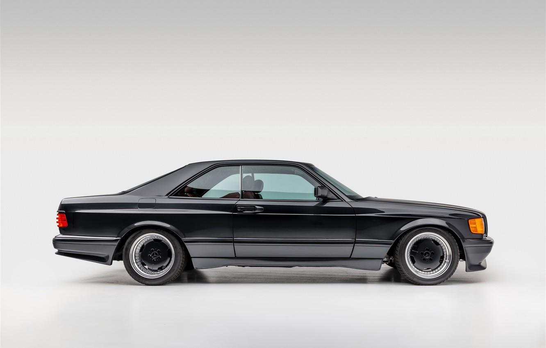 Photo wallpaper AMG, COUPE, Mercedes - Benz, C126, 560SEC