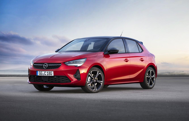 Photo wallpaper Opel, Corsa, 2019, GS Line