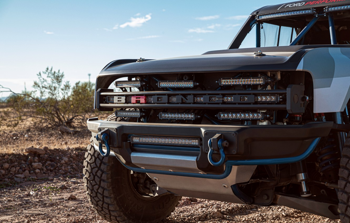 Photo wallpaper Ford, the front part, 2019, Bronco R Race Prototype
