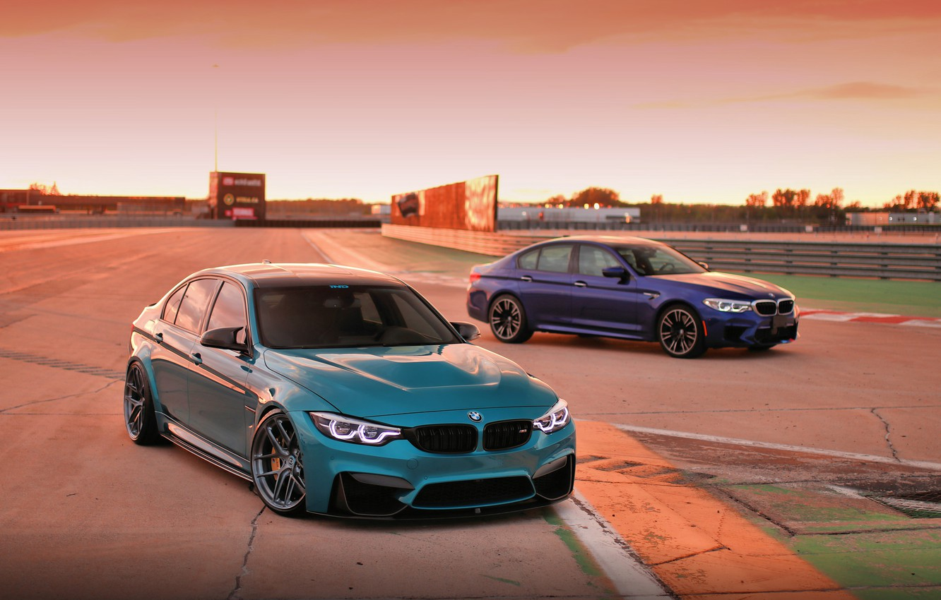 Photo wallpaper BMW, Light, Blue, F80, LED, F90