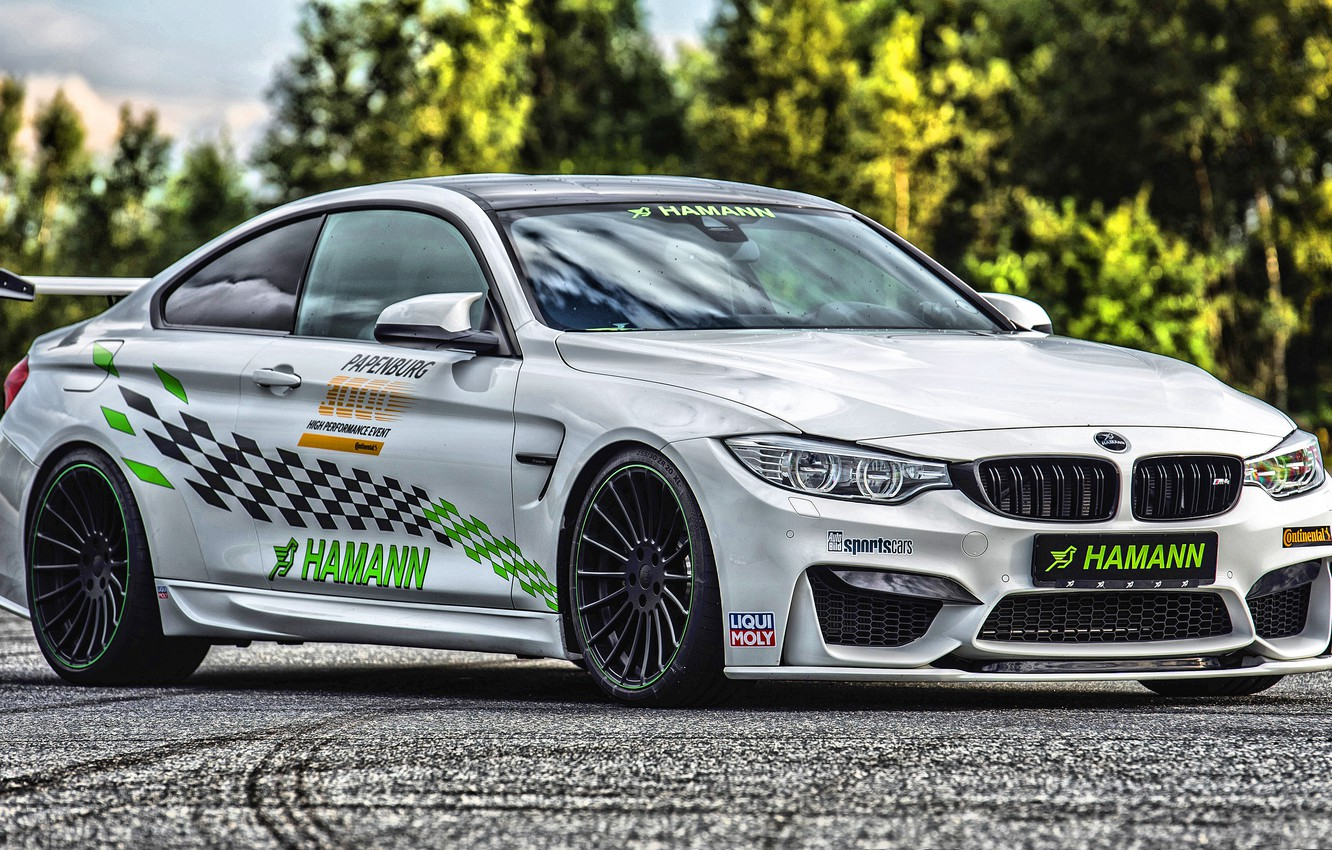 Photo wallpaper BMW, Hamann, Coupe, Tuning, Hamann BMW M4 Coupe