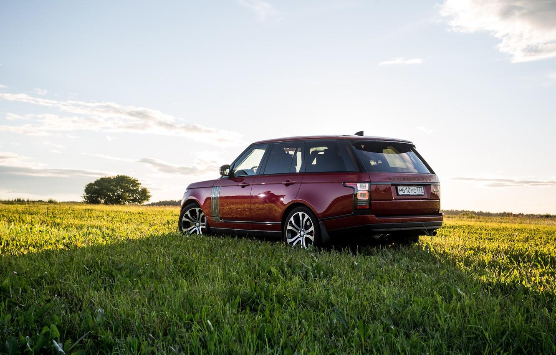 Photo wallpaper nature, Range Rover, Autobiography, 2019
