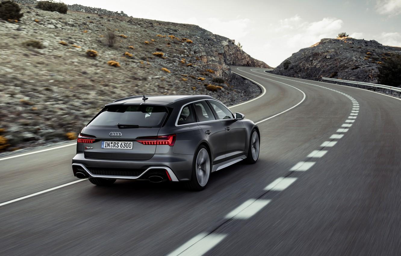 Wallpaper Road Audi Universal Rs 6 2020 2019 Dark Gray