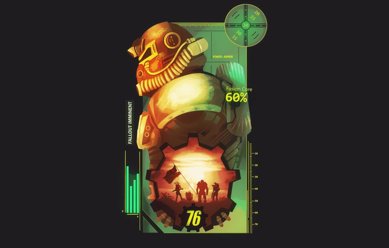 Wallpaper Helmet, Fallout, Bethesda Softworks, Bethesda