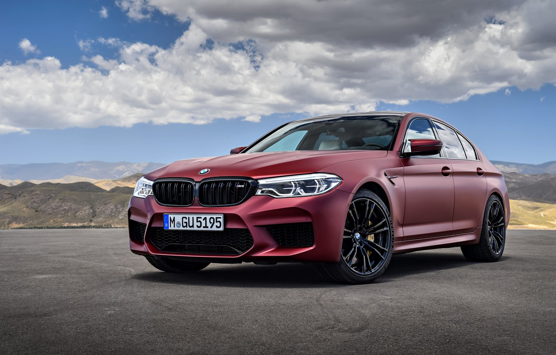 Photo wallpaper BMW, sedan, 2017, M5, F90, M5 First Edition