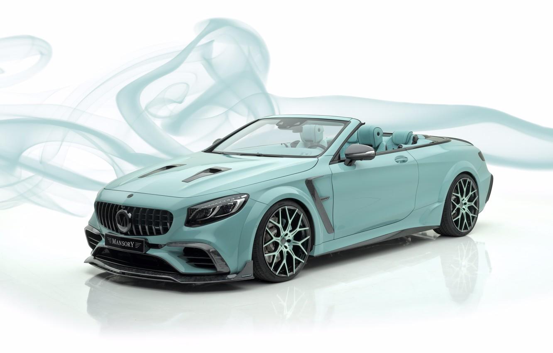 Photo wallpaper Mansory, S63 AMG, Mercedes - Benz, 2019, Apertus Edition