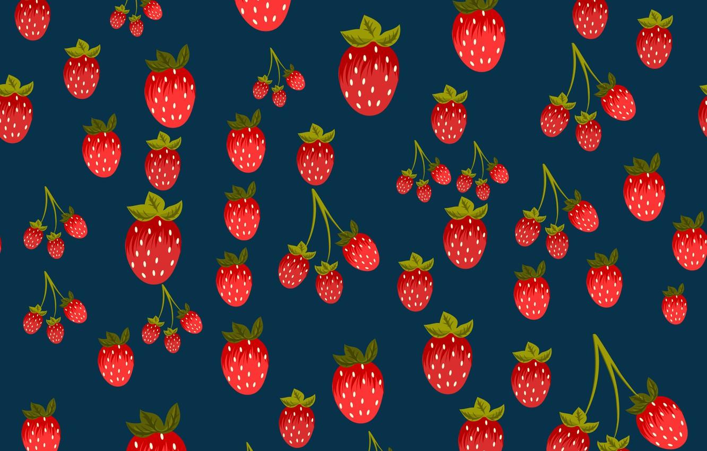 Photo wallpaper berries, background, texture, strawberry, background, pattern, Strawberries