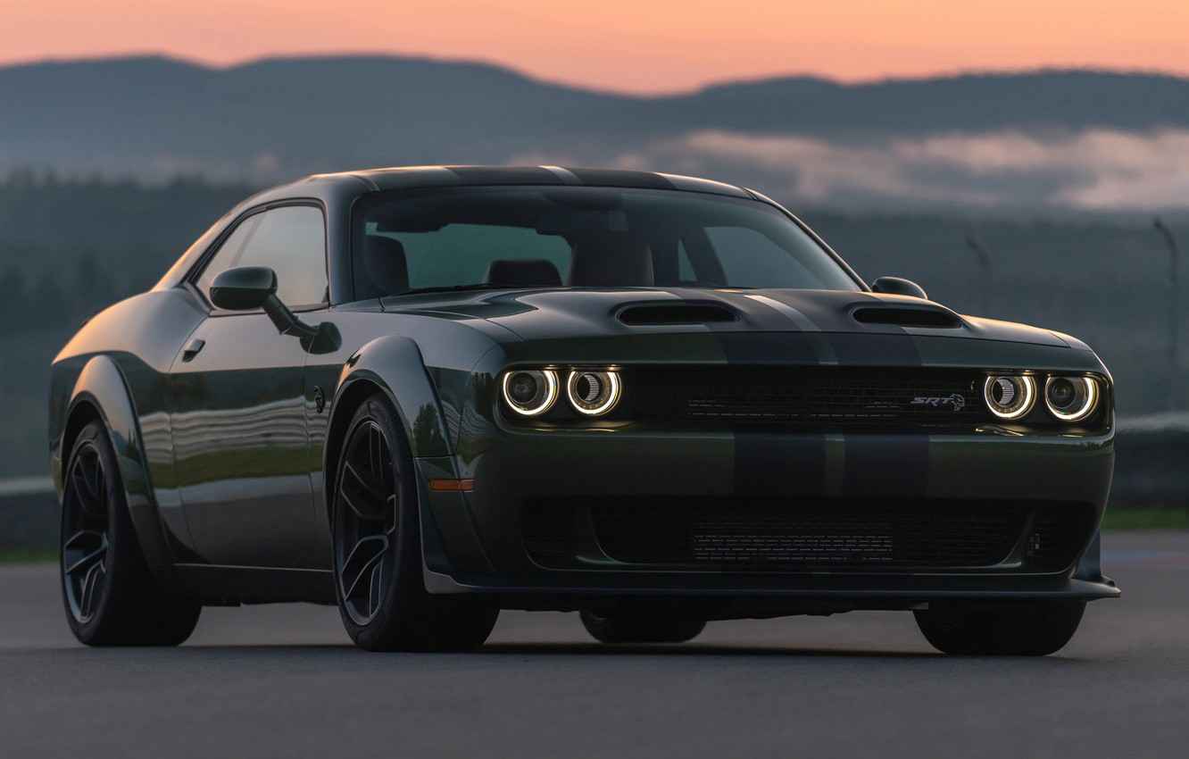 Photo wallpaper Dodge, Challenger, Dodge Challenger, Hellcat, SRT, Redeye Widebody, Dodge Challenger SRT Hellcat Redeye Widebody
