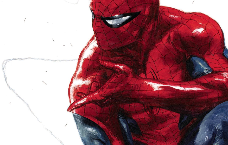 Photo wallpaper Art, Marvel, Comics, Peter Parker, Spider Man