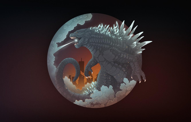 Wallpaper Figure Fantasy Godzilla Art Art Godzilla