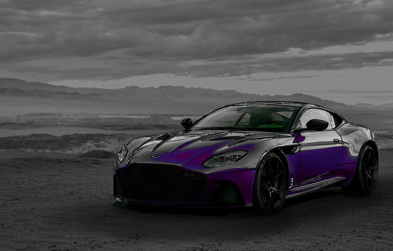 Photo wallpaper Aston Martin, auto, auto art