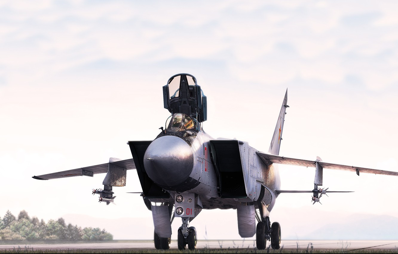 Wallpaper Fighter Mig Mig Bbc Interceptor The Russian Air Force