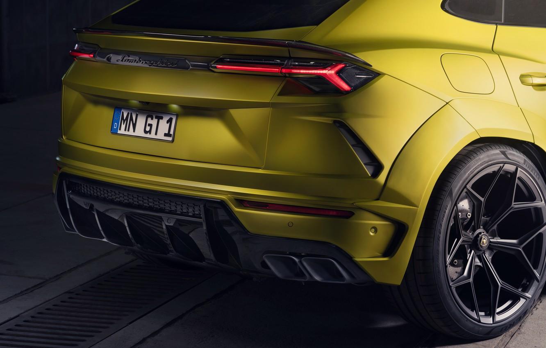 Photo wallpaper Lamborghini, headlight, the rear part, crossover, Urus, Novitec, 2019