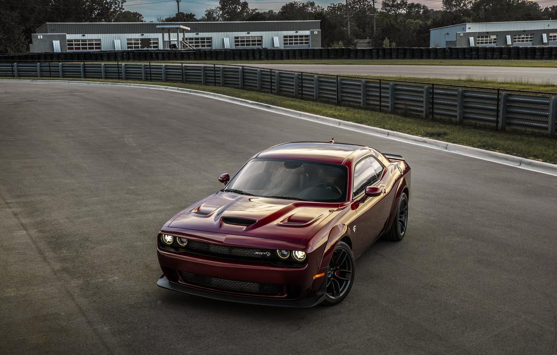 Photo wallpaper Muscle, Dodge Challenger, Hellcat, SRT, Widebody