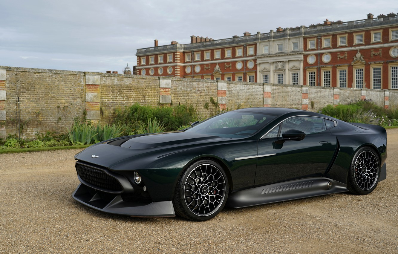 Photo wallpaper Aston Martin, coupe, side, V12, Victor, 2020