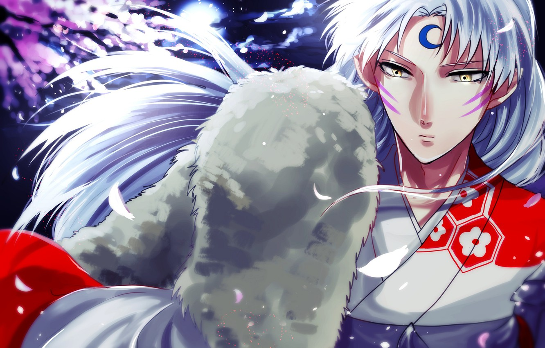 Photo wallpaper look, the demon, Inuyasha, Seshoumaru