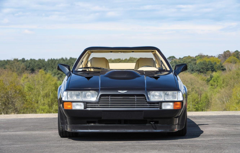 Photo wallpaper front view, Coupe, Aston Martin V8 Vantage Zagato