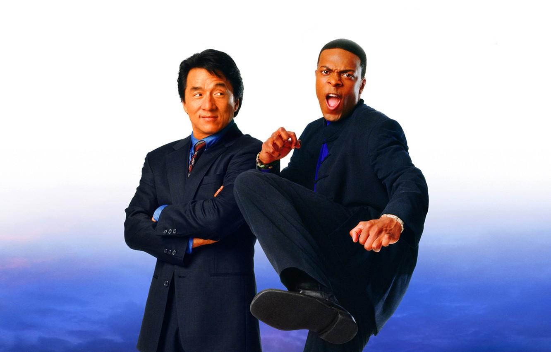 Wallpaper Jackie Chan Partners Chris Tucker Rush Hour 2