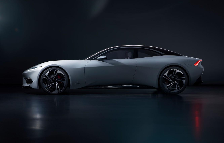 Photo wallpaper Side view, 2020, Electric Car, Karma Pininfarina GT