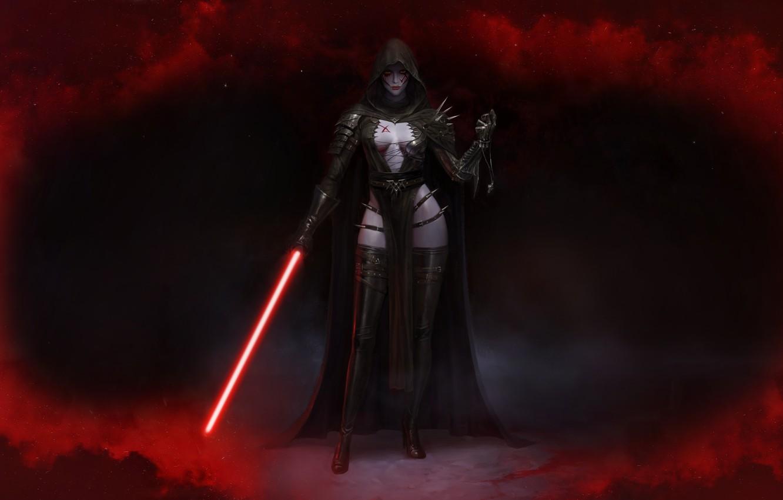 Wallpaper Star Wars Sword Dark Side Darkness Fantasy
