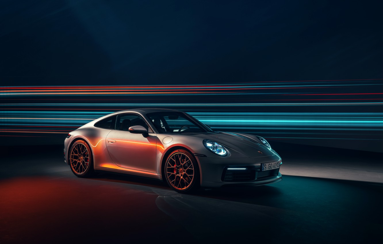Photo wallpaper 911, Porsche, Carrera 4S, 2019