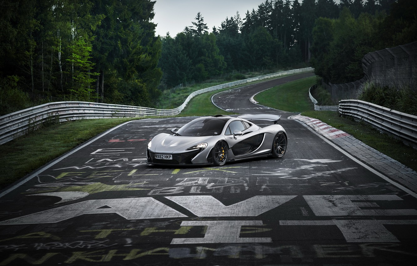 Photo wallpaper McLaren, Nurburgring, Nordschleife, P1