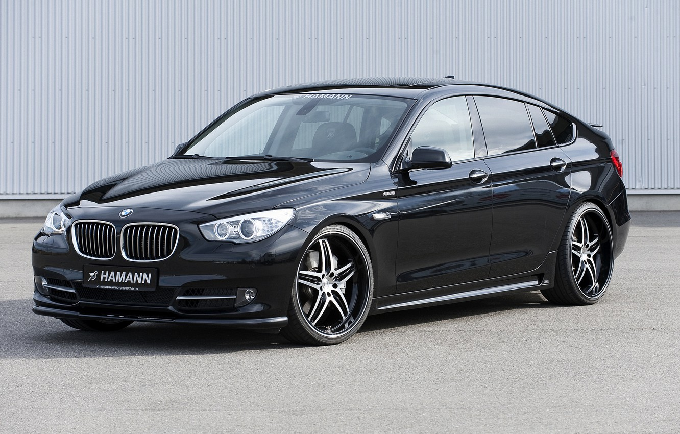 Photo wallpaper BMW, Hamann, 2010, Gran Turismo, 550i, rollers, 5, F07, 5-series, GT