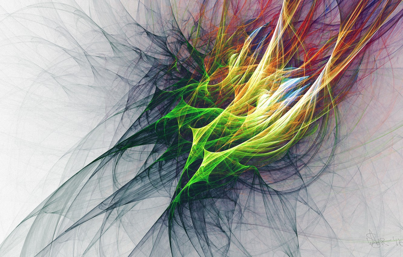 Photo wallpaper colorful, abstraction, layers, bunches, 4k ultra hd background