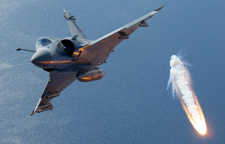 Photo wallpaper Fighter, LTC, Mirage 2000, Greek air force, Hellenic Air Force, Dassault Mirage 2000, Dassault Mirage …