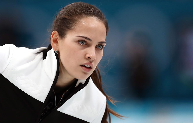 Photo wallpaper girl, sport, beauty, sport, girl, beautiful, Curling, beautiful, beauty, champion, Nastya, Nastya, sportswoman, Curling, Anastasia …