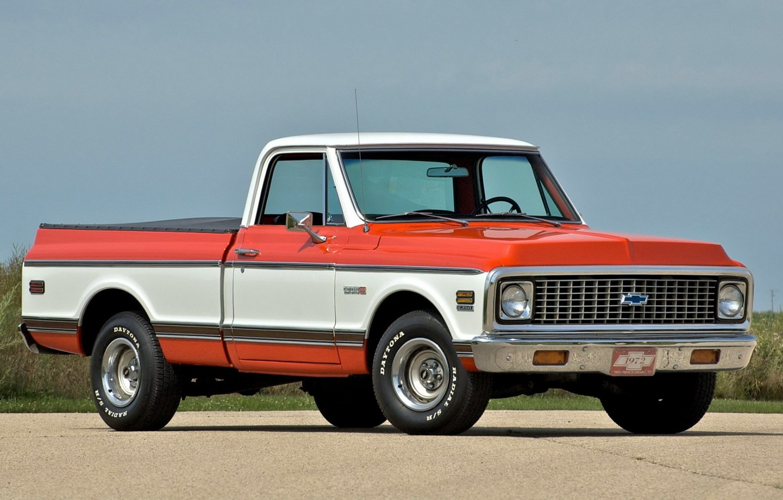 Photo wallpaper Chevrolet, Old, Pickup, C10