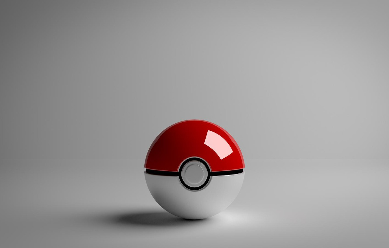 Photo wallpaper ball, pokemon, pokemon, pokeball, procobol