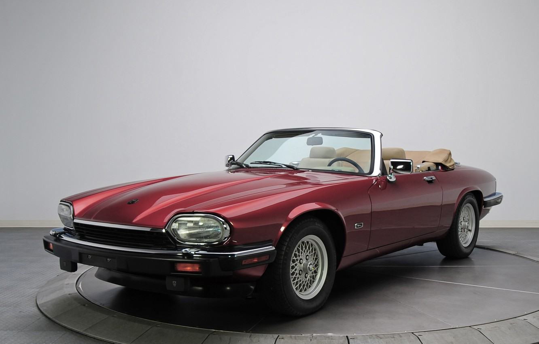 Photo wallpaper Jaguar, Convertible, Luxury, Vehicle, XJS