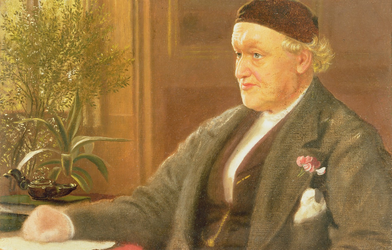Wallpaper Arthur Hughes Portrait Of The Artist The Pre
