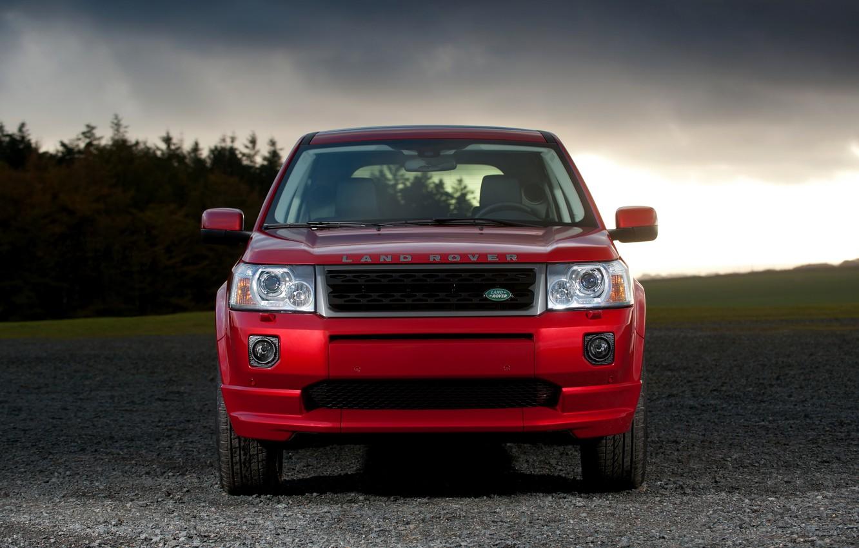 Photo wallpaper Land Rover, 2010, front view, crossover, Freelander, SUV, Freelander 2, LR2