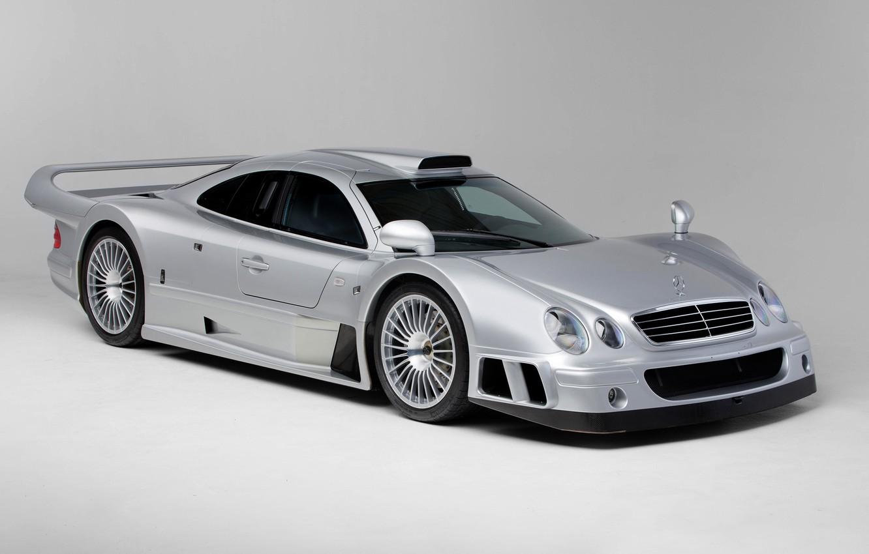 Photo wallpaper Mercedes-Benz, Wheel, The hood, GTR, Lights, Drives, CLK, 1997, Sports car, Mercedes-Benz CLK GTR AMG …