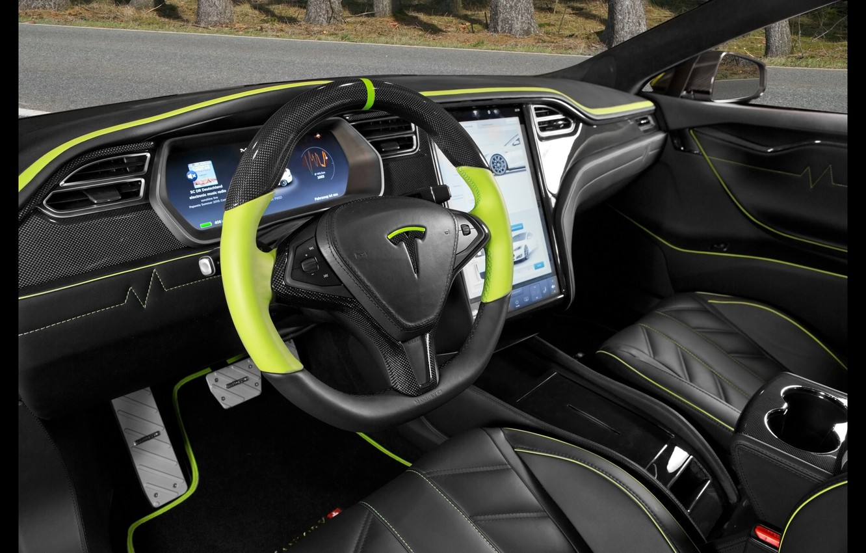 Photo wallpaper salon, Tesla, Mansory, Model S, 2016