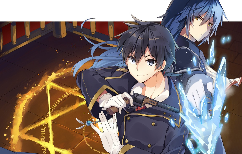 Wallpaper Anime Art Characters Rokudenashi Majutsu Koushi S