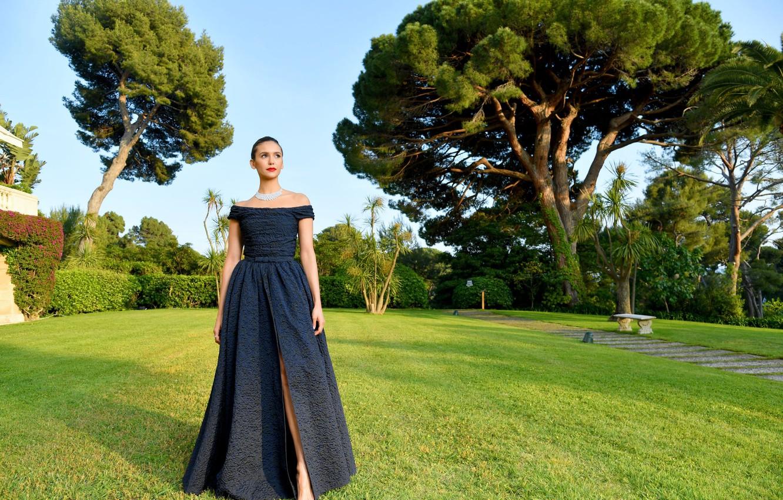 Photo wallpaper dress, actress, Nina Dobrev