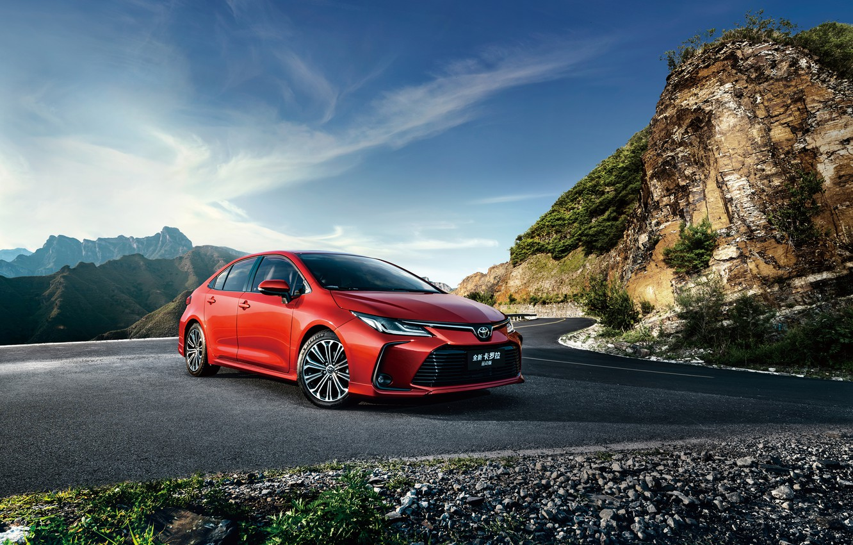 Photo wallpaper Toyota, Sport, Sedan, Corolla, 2019