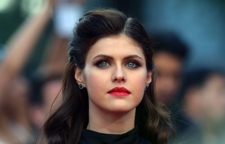Wallpaper Look Girl Makeup Actress Brunette Photoshoot