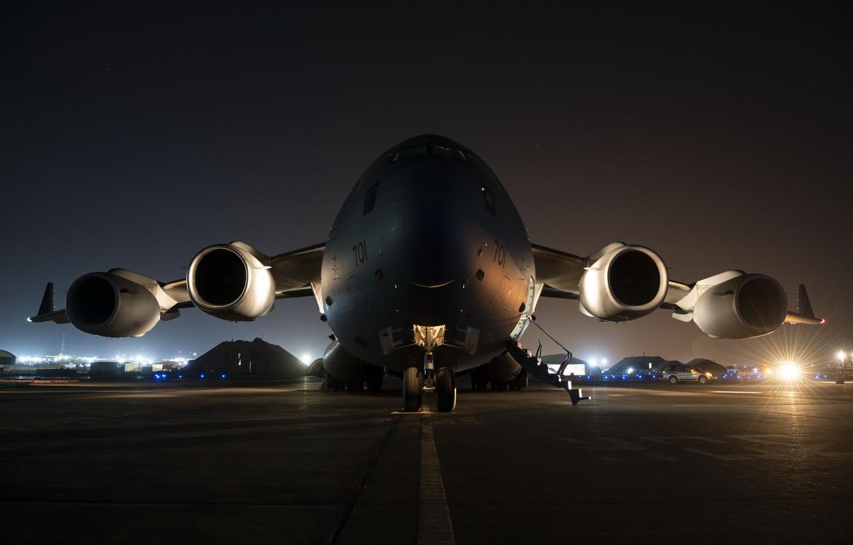 Photo wallpaper airport, the plane, CC-177 Globemaster
