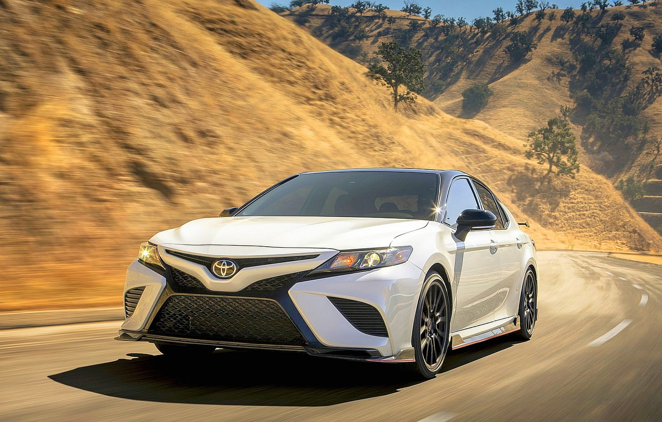 Photo wallpaper Toyota, TRD, Camry, 2020, Toyota Camry, 2020 Toyota Camry TRD