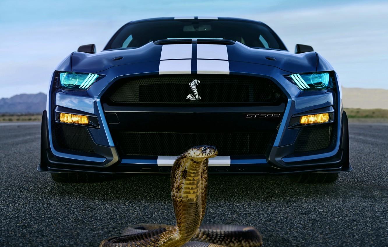 Photo wallpaper background, fantasy, Cobra, ford