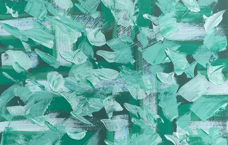 Photo wallpaper paint, strokes, canvas, strokes