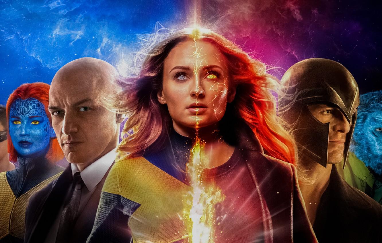 Photo wallpaper Dark, Action, Olivia Munn, Fire, Flame, X-Men, Storm, Smoke, year, James McAvoy, Ash, Magneto, Michael …