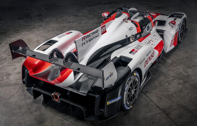 Photo wallpaper wing, Toyota, hypercar, feed, WEC, 4WD, 2021, Gazoo Racing, GR010 Hybrid, 3.5 л., V6 twin …