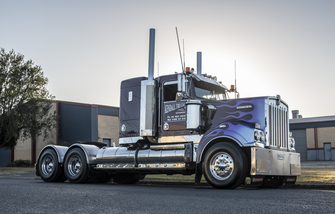 Photo wallpaper Truck, Kenworth, T409